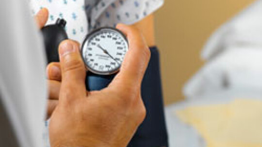 How can I check my blood pressure at home?
