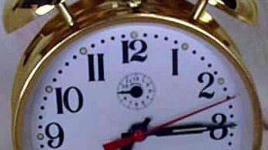 Inside a Wind-up Alarm Clock