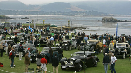 How a Concours d'Elegance Works