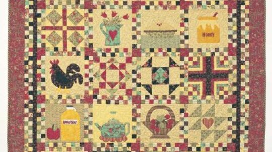 Country Cupboard Quilt Design