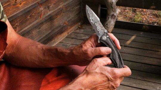 The Lost Art of True Damascus Steel