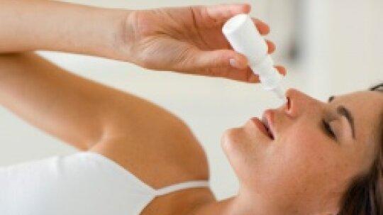 Will nasal spray help ward off allergies?
