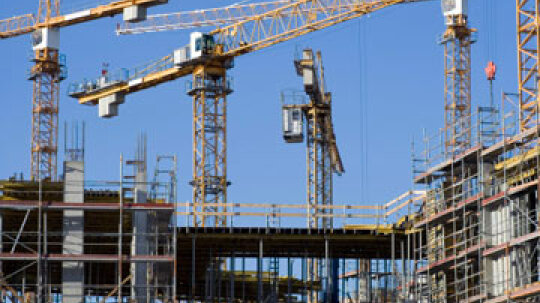 How is industrial construction different from residential construction?