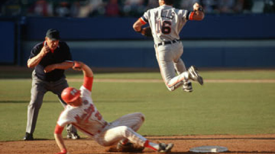 What's a double play in baseball?
