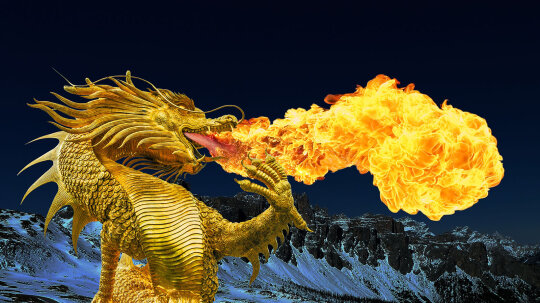 Do Fire-breathing Dragons Torch Their Teeth?