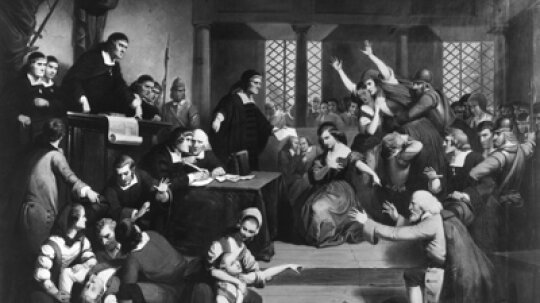 Were the American colonists drugged during the Salem witchcraft trial?