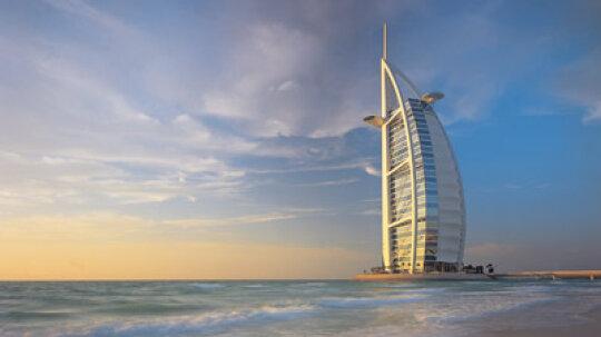 How the Dubai Seven-Star Hotel Works