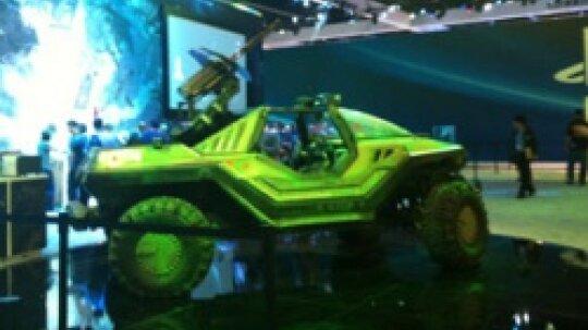 """2012年E3展图片:异形,疣猪和幸运兔子""""border="""