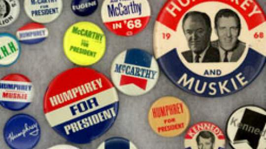 American Politics in Souvenirs and Slogans