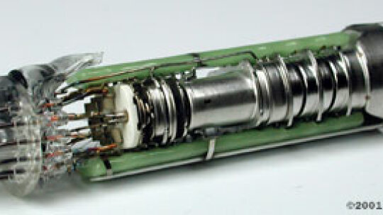"""How does the electron gun inside a TV work, and why is it called an """"electron gun""""?"""