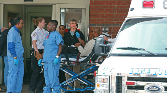 How do emergency rooms handle massive disasters?