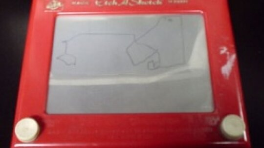 Inside an Etch-a-Sketch