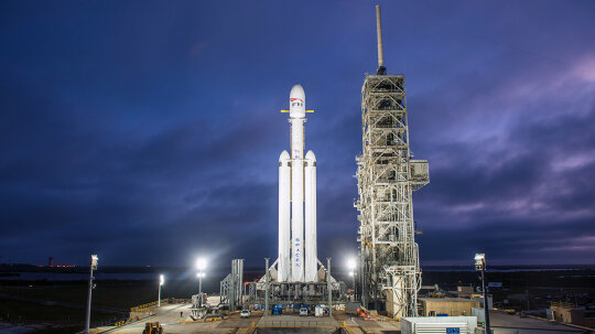Falcon Heavy Launch Major Success for SpaceX