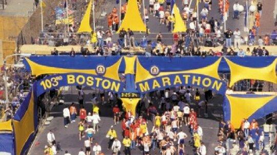 Family Vacations: Boston Marathon