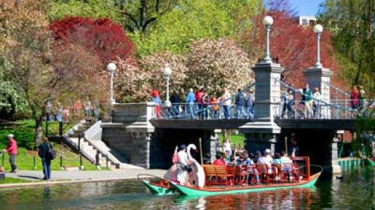 Family Vacations: Boston's Public Gardens