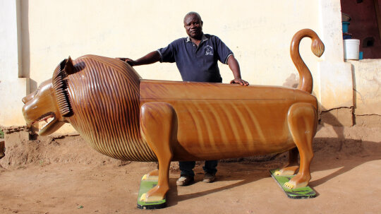 Ghana's Fantasy Coffins Are to Die For
