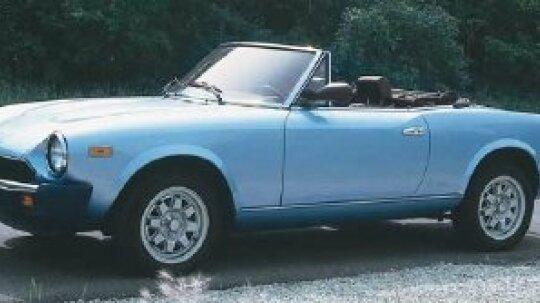 Fiat Sports Cars