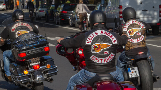 What was the first outlaw motorcycle club?