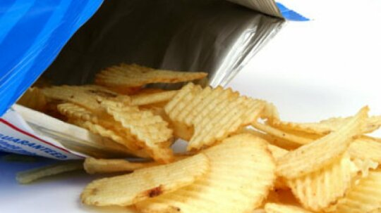 Where did the potato chip come from?