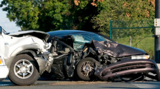 How does GAP insurance work when a car is totaled?