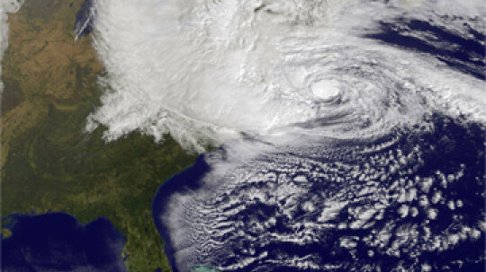 Did global warming cause Hurricane Sandy?