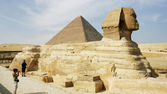 Egyptian Pyramids Built with Ramps, Not Alien Technology