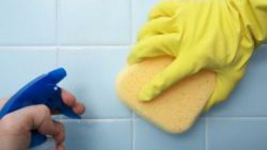 9 Green Bathroom Cleaning Tips