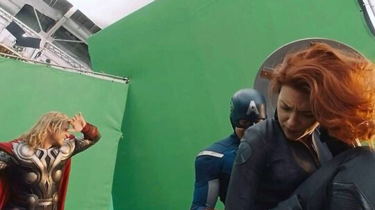 Green Screens and the Art of Filming Crazy Cool Effects