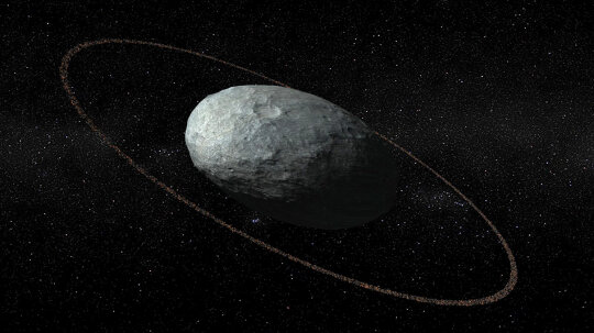 Haumea, a Dwarf Planet in the Kuiper Belt, Has Its Own Ring