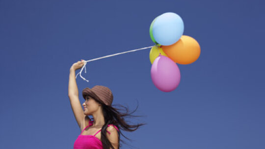 How Helium Balloons Work