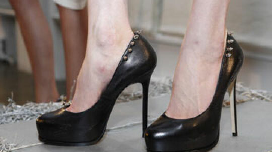 How can you avoid getting blisters when you're wearing high heels?