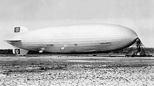 The Hindenburg Crashes