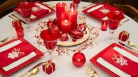 Holiday Table Settings Pictures