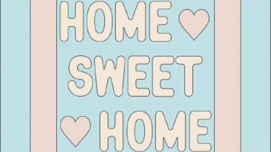 Home Sweet Home Quilt Block