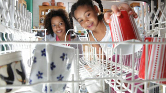 How can portable dishwashers improve small kitchens?