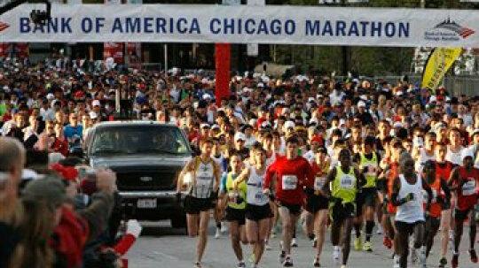 How the Chicago Marathon Works