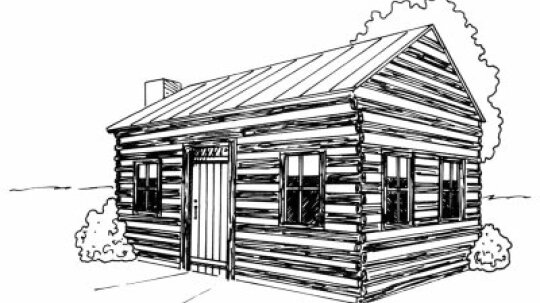 How to Draw a Log Cabin in 4 Steps