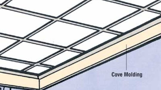 How to Tile a Ceiling