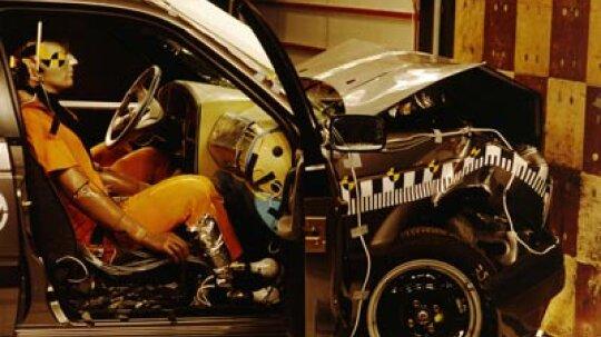 Have crash tests ever used live (or dead) human occupants?