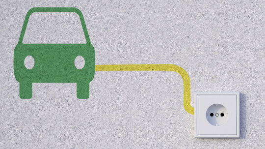 How much voltage does a hybrid car produce?