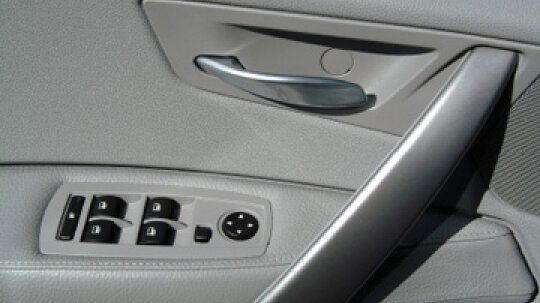 How are interior car panels installed?