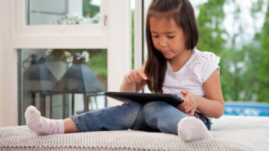 How are kids using iPads at school?
