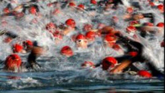 How long is an Ironman triathlon?