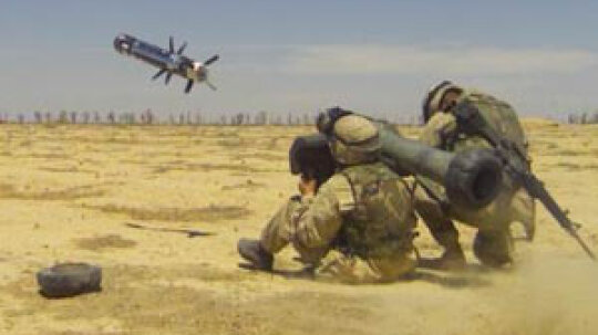 Why does the Army have a Javelin missile simulator?
