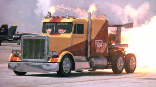 How does a jet truck work?