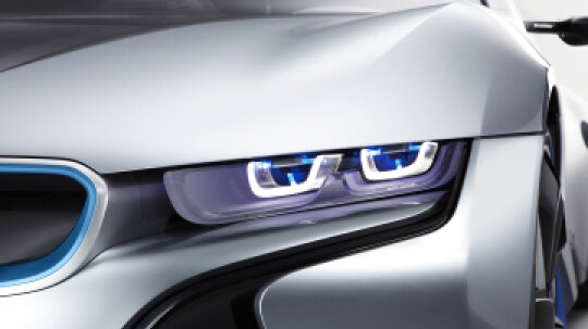 How Laser-powered Headlights Work
