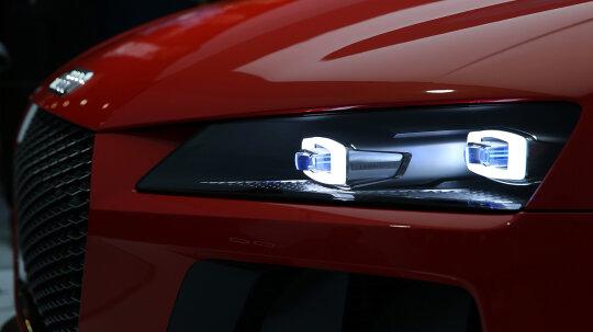 How the Audi Sport Quattro Laserlight Concept Works