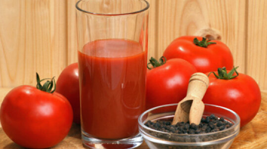 What can you do with leftover juice from tomatoes?