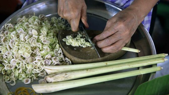 Lemongrass Is a Prized Herb in Asian Cuisine