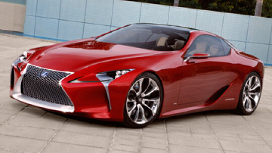 How the Lexus LF-LC Works